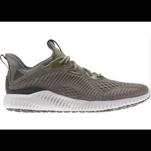 Adidas alphabounce green tennis shoe w7.5